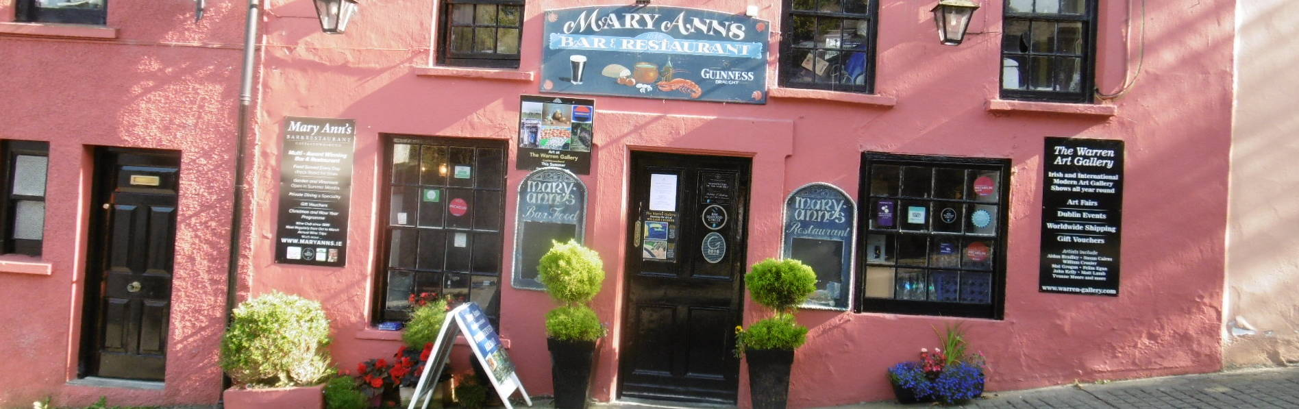 Mary Anns Pub Restaurant Castletownshend West Cork