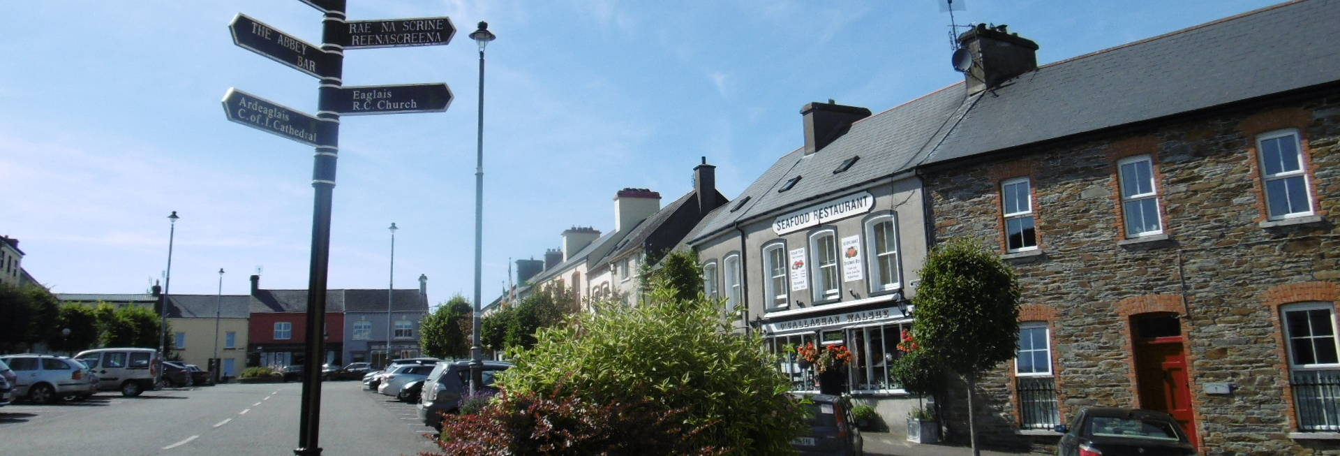 Rosscarbery Village Square West Cork