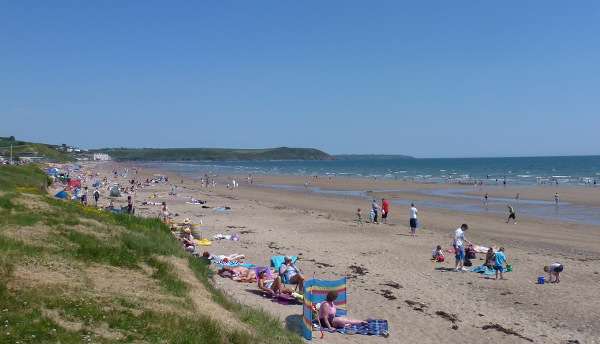 Youghal Claycastle Beach East Cork
