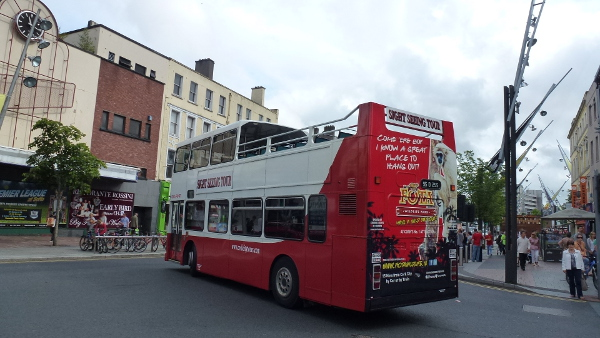 Cork City Hop On Hop Off Tour
