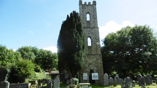 Innishannon old church and Tower of St Mary