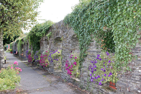 Innishannon old stone arch walls