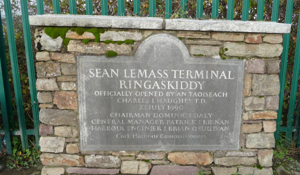 Ringaskiddy Terminal Ferry Port Cork