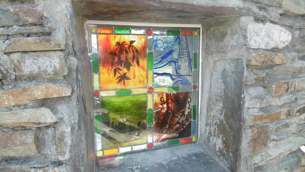 Rosscarbery Stained Glass feature