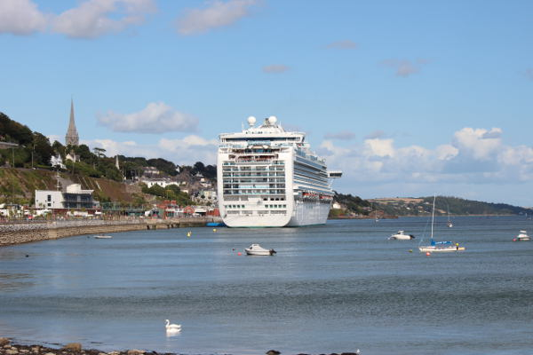 Cobh Cruise Liners