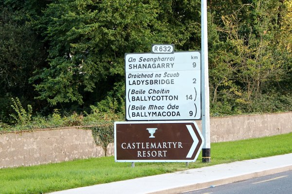 Castlemartyr in East Cork