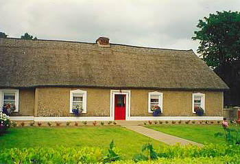 Cork Irish Traditional Thatched Cottage To Rent At